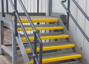 John Day Boots Handrail Refinishing | Painted handrail