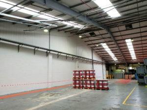 John Day Valliant Warehouse Refurbishment | Interior of a large warehouse